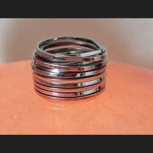 Small Handcrafted Coil Ring